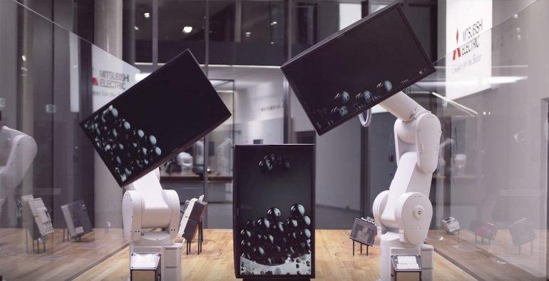 Robotlara özel koreografi