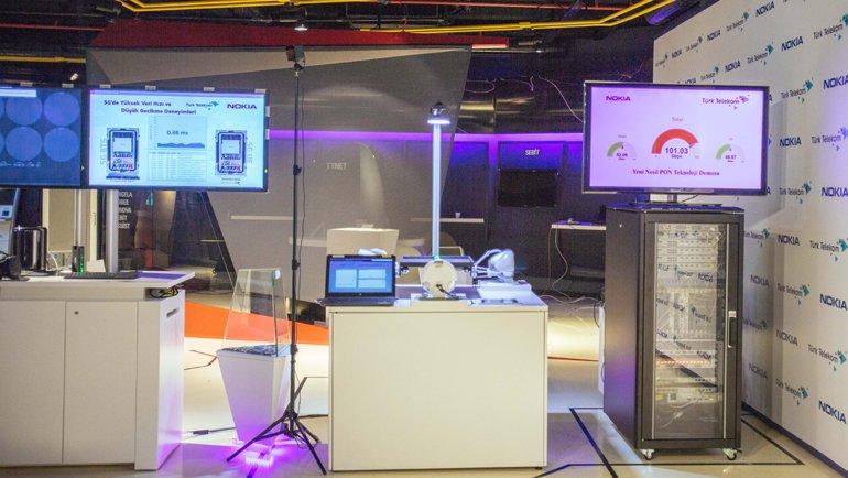 Türk Telekom, Veri Taşıma Hızını 21 Kat Artırdı