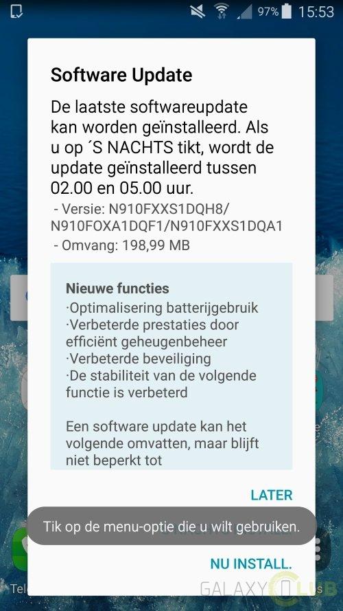 Samsung'tan Galaxy Note 4'e Güvenlik Güncellemesi!