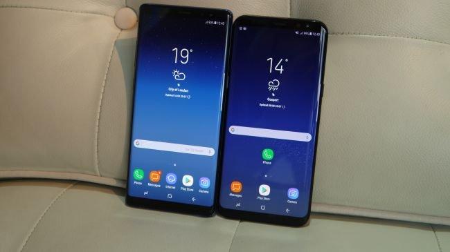 Samsung Galaxy Note 8 vs. Galaxy S8 Plus!