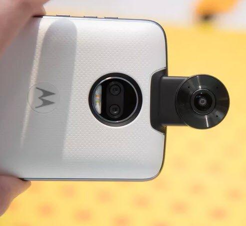360 derece video kaydı için yeni bir mod