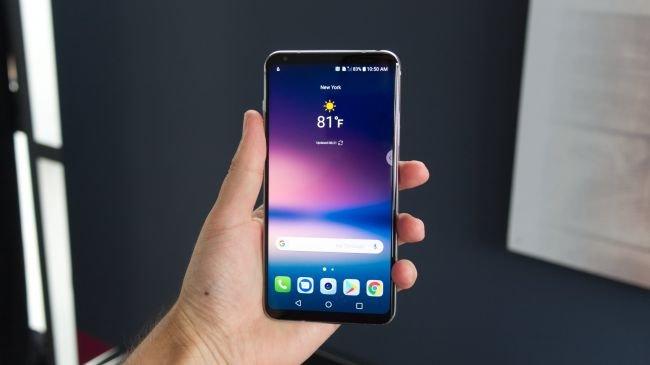 1 - En iyi telefon: LG V30
