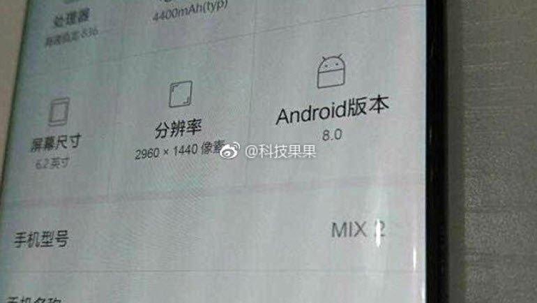 Xiaomi Mi MIX 2, İşte Böyle Olacak!