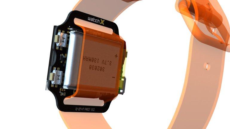 Bu Akıllı Saatin Bir Benzeri Daha Yok: watchX