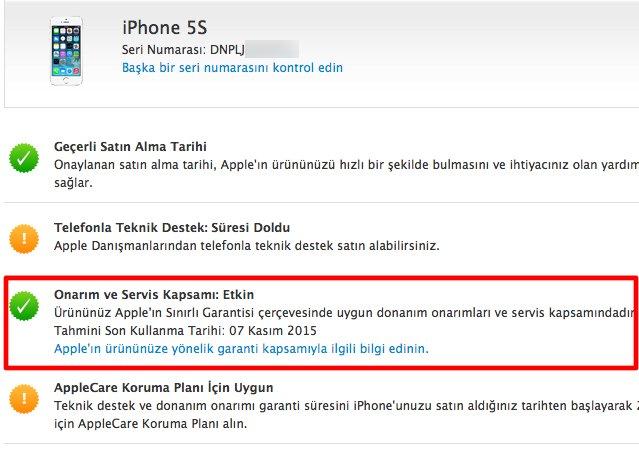 iPhone Garanti Süresi Sorgulama Nasıl Gerçekleştirilir?