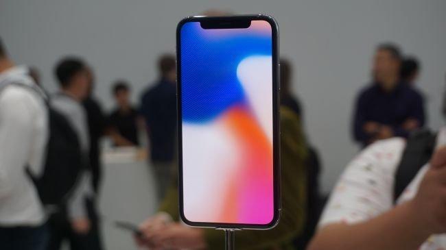 iPhone X vs Galaxy Note 8: Ekran
