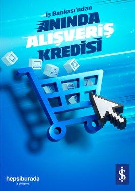 Hepsiburada'dan bir ilk: 'Anında Alışveriş Kredisi