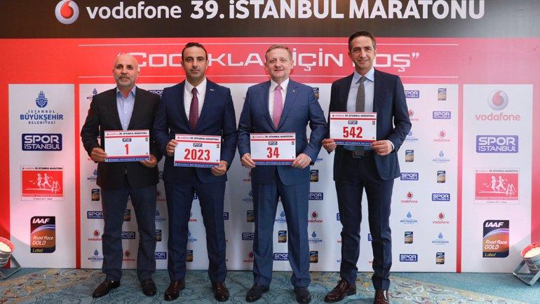 Vodafone İstanbul Maratonu Başlıyor