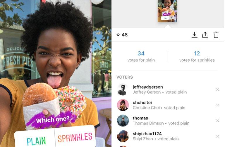 Instagram, Polly'nin Anket Özelliğini Kopyaladı!