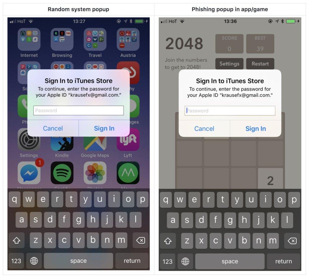iOS Parolanızı Çalmak, Aslında Bu Kadar Kolay