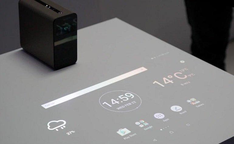 Sony Xperia Touch, Duvarınızı Dokunmatik Yapacak