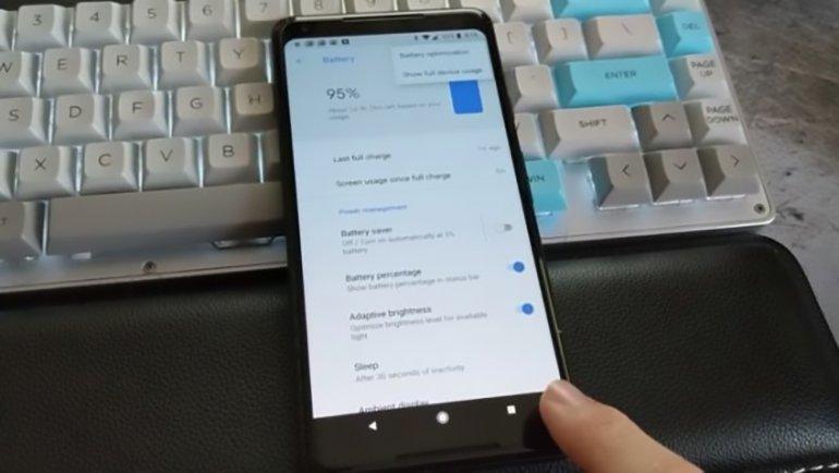 Pixel 2'de Eski Android Menü Tuşu Saklanıyor!