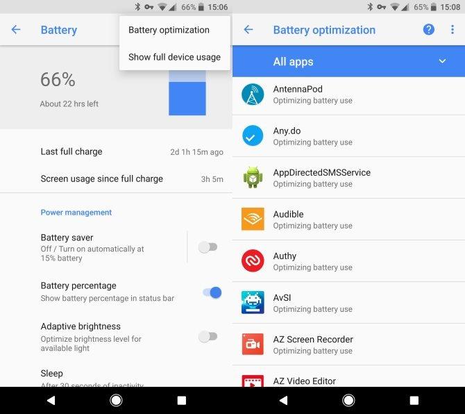 Android'in Pil Optimizasyonu Aşırıya Kaçarsa...