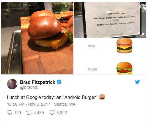 """""""Android Burger"""" Gerçek Oldu!"""