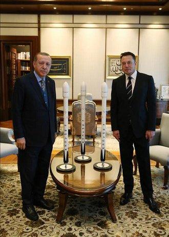 Erdoğan ve Musk neler konuştu?