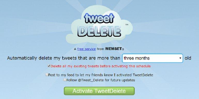 Bütün Tweet'lerinizi Nasıl Silersiniz?