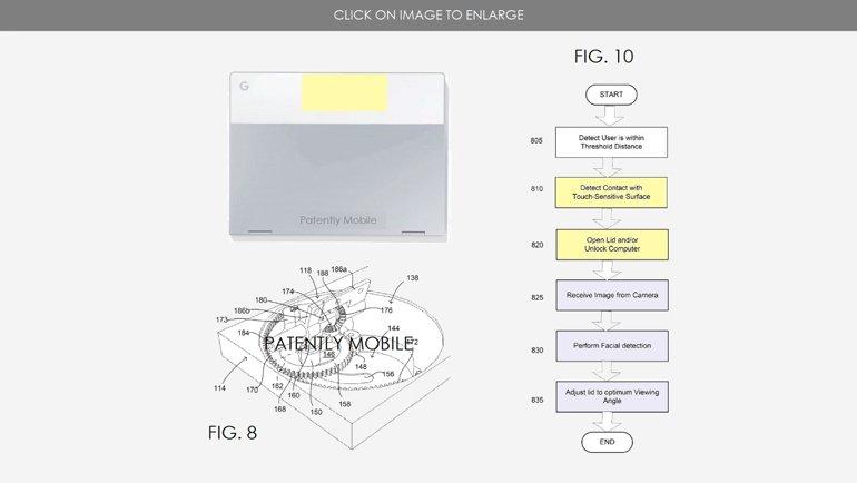 Yeni Google Laptop'un Kapağı Otomatik Açılacak!
