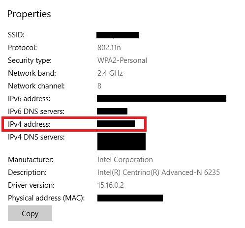 Windows 10'da IP Adresinizi Nasıl Öğrenirsiniz