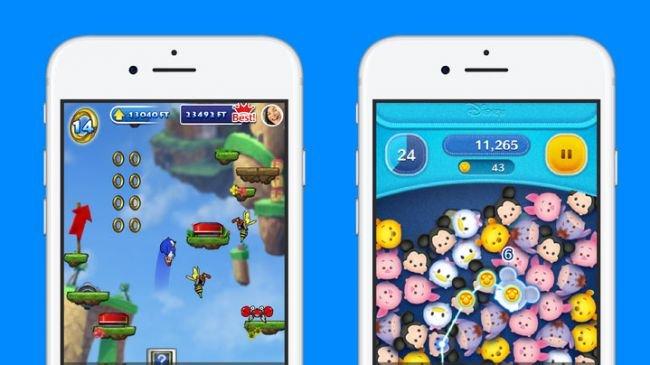 Angry Birds ve Sonic, Messenger'a Geliyor