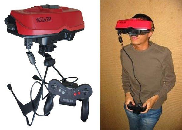 Nintendo Virtual Boy - PlayStation VR