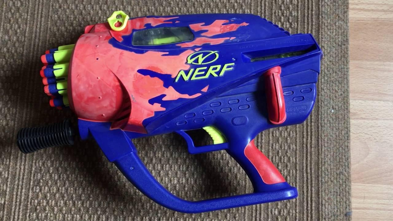 Nerf Wildfire - Nerf Rival Nemesis MXVII-10K Blast