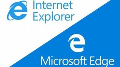 Internet Explorer Tepetaklak Düşüşte