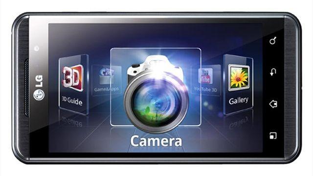 LG'nin Optimus 3D ekranı