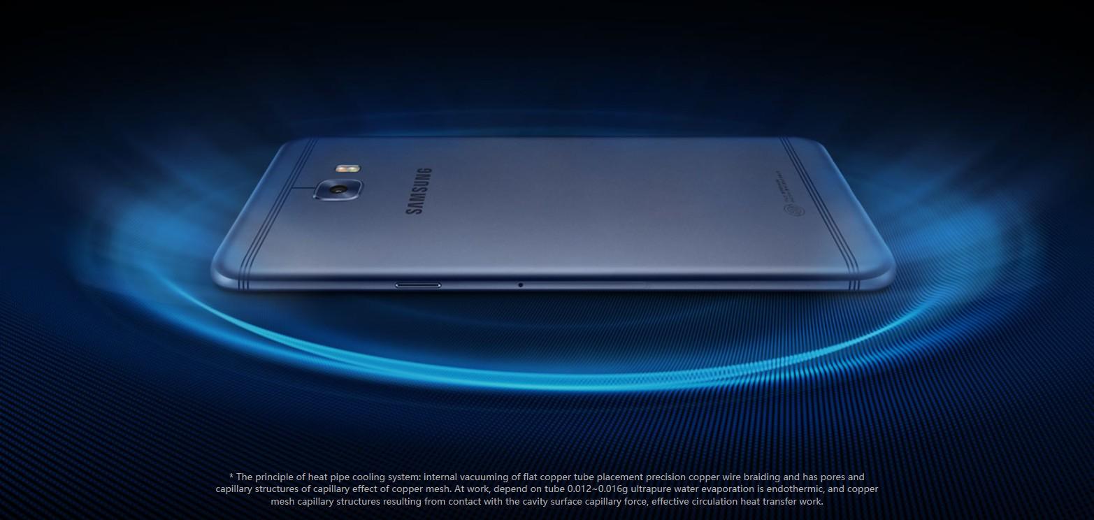 Tanıtıldı: Samsung Galaxy C7 Pro Özellikleri...