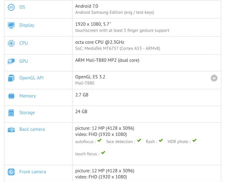 MediaTek İşlemcili Gizemli Samsung!