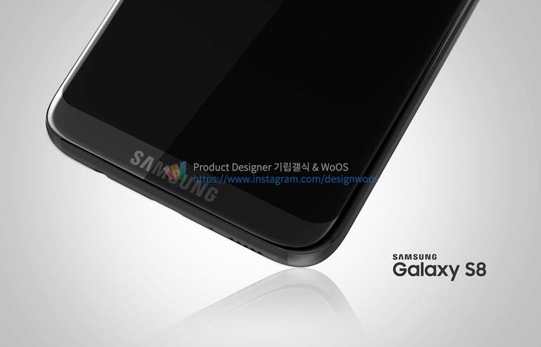 Samsung Galaxy S8'den Taze Çizimler!