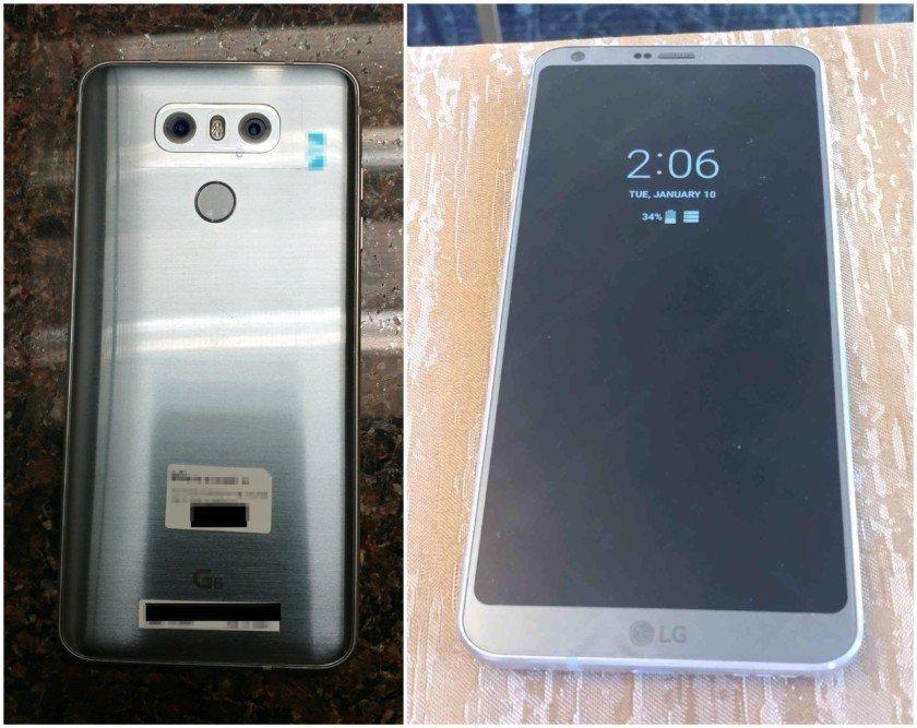 LG G6 Şimdi de Çalışırken Göründü!
