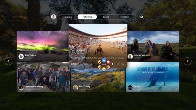 Facebook 360: Facebook'tan VR'a Özel Yeni Uygulama!