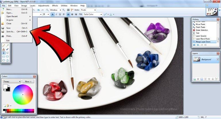 3. Microsoft Paint yerine Paint.NET