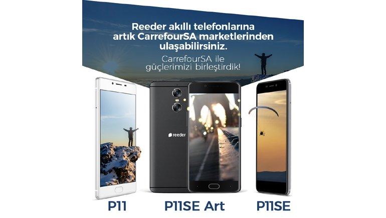 Reeder Akıllı Telefonlar Artık CarrefourSA'da - CHIP Online