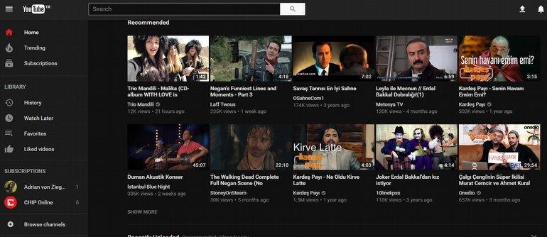YouTube Gece Modu Nasıl Açılır? - CHIP Web İçin Youtube'da Karanlık Tema Nasıl Etkinleştirilir ?