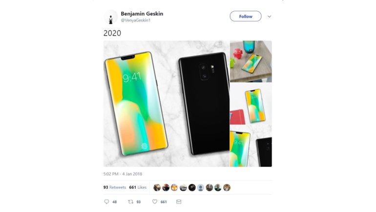 Samsung Galaxy Note, 2020 Yılında Böyle Olacak