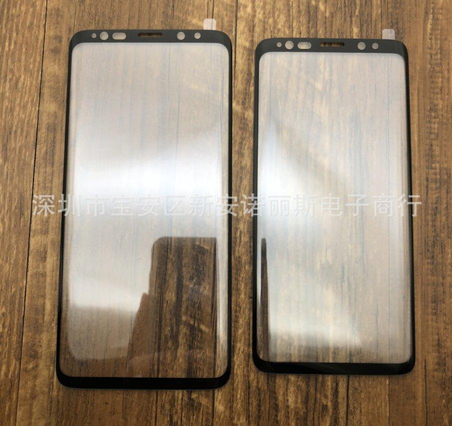 Galaxy S9'un ekran filmleri sızdı!