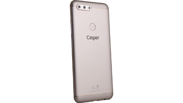 Casper VIA F2: 4 kameralı akıllı telefon
