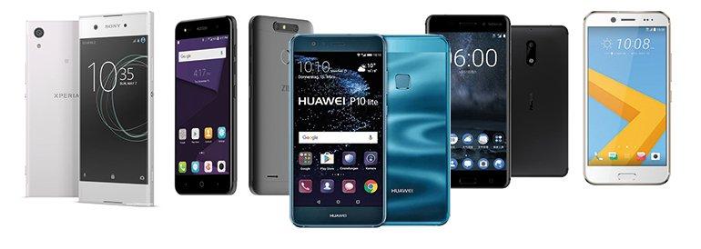 Özel test: Orta segment 7 akıllı cep telefonu! - CHIP Online