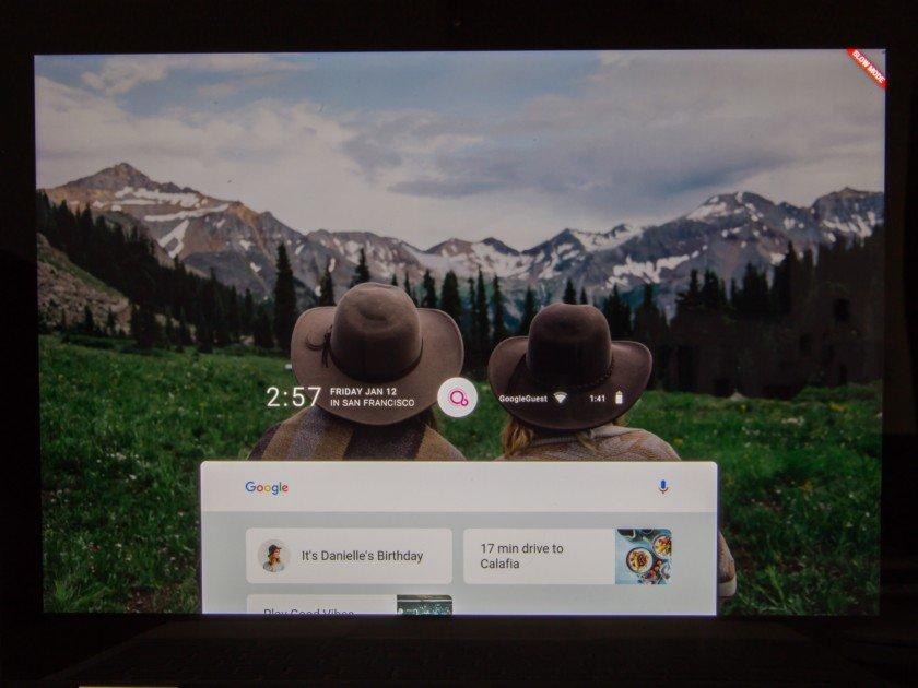 Fuchsia OS, Pixelbook'ta Çalışırken Görüldü!