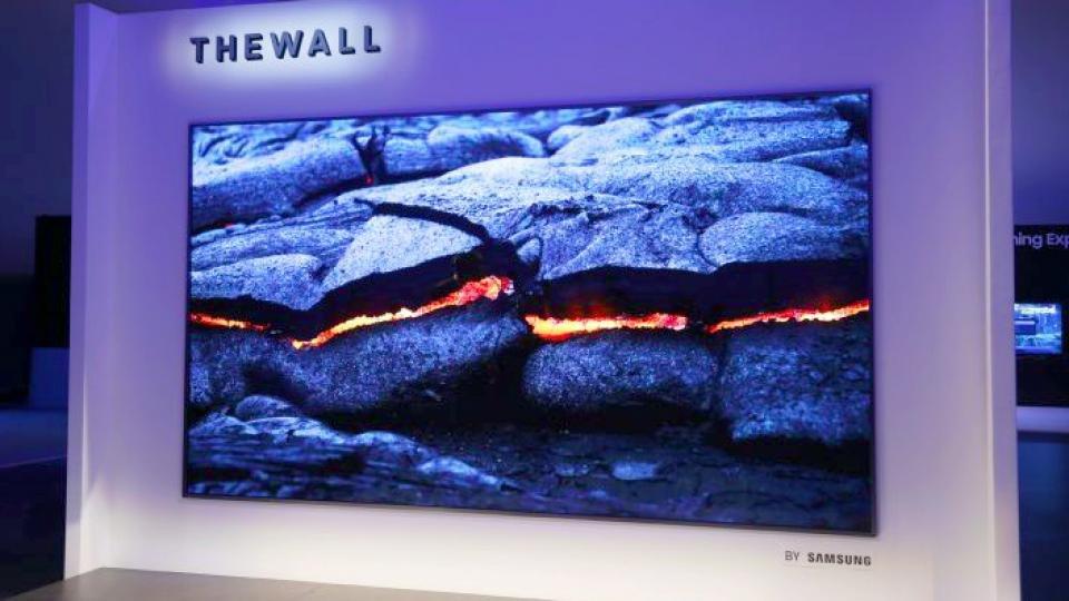 Tüm şovun en iyisi - Samsung The Wall