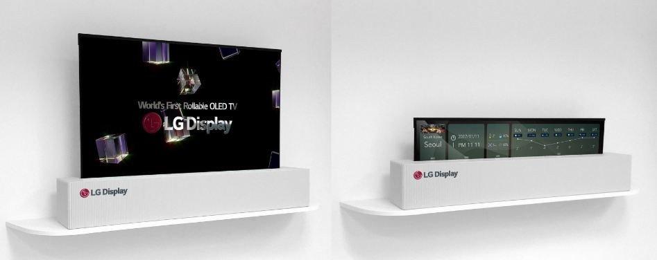 En iyi görünüm - LG'nin kıvrılabilen OLED TV'si