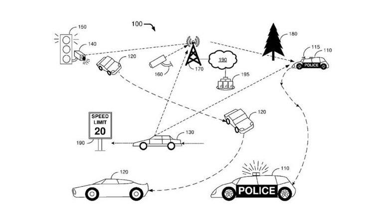 """Ford, """"Robot Polis Arabası"""" Yapıyor"""