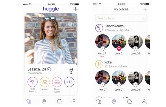 5. Huggle (gerçek arkadaşlar için)