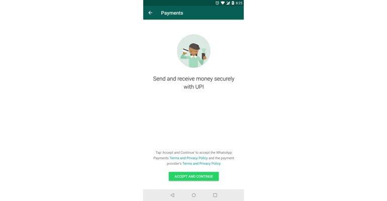 WhatsApp, Hindistan'da Ödeme İşlevini Deniyor!