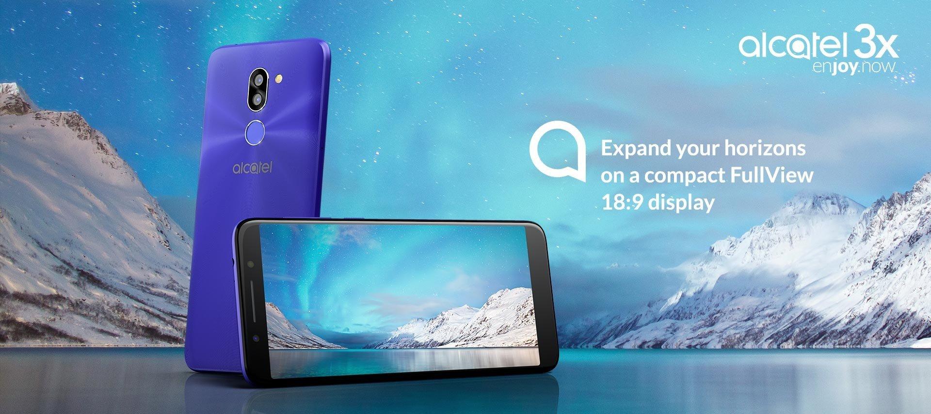 Alcatel, MWC 2018'de Üç yeni Telefon Tanıttı