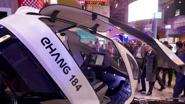 Otonom Taksi Dronlar ile Jetgiller Gerçek Olacak