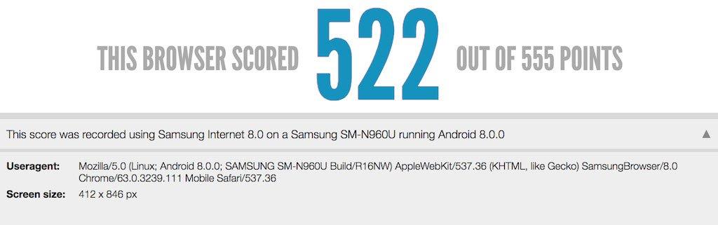 Galaxy Note 9'un Özellikleri Hız Testinde Göründü!
