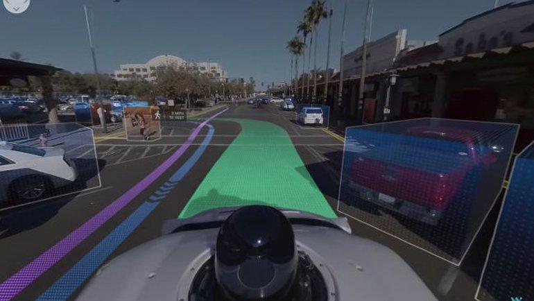 Sürücüsüz Otomobiller İşte Böyle Görüyor