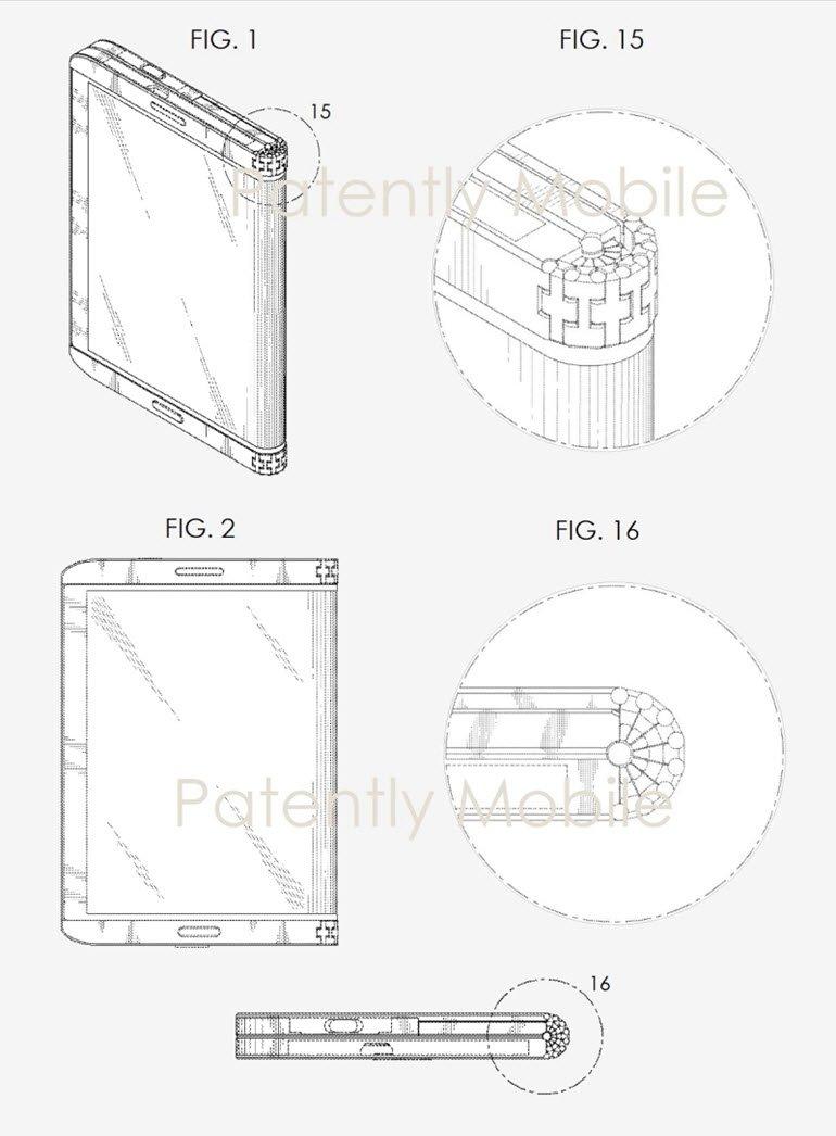 Galaxy X'i Yakından İlgilendirebilecek Patentler!